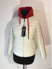 Куртки демісезон жіночі від виробника Kagihao біла, рожева і салатова