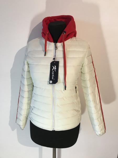 Куртки демисезон женские от производителя Kagihao белая, розовая и салатовая