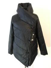 Куртка Kaqihao демісезон жіноча чорного кольору