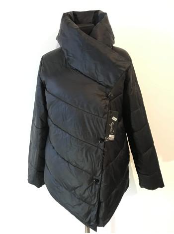 Куртка Kaqihao демісезон жіноча - чорного кольору