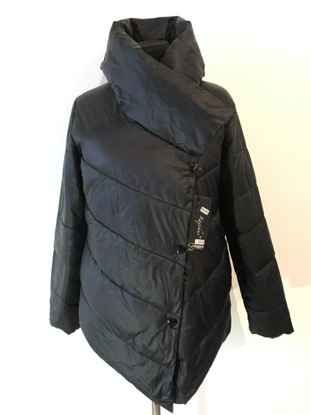 Куртка Kaqihao демисезон женская черного цвета