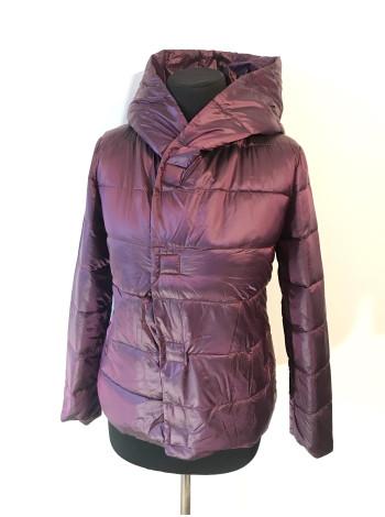 Куртка Kaqihao демісезон - чорного, сірого і малинового кольору