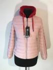 Куртки демисезон женские от производителя Kagihao - белая, розовая и салатовая фото №3