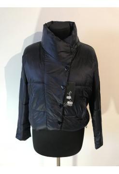 Куртка женская Kaqihao демисезон синего цвета
