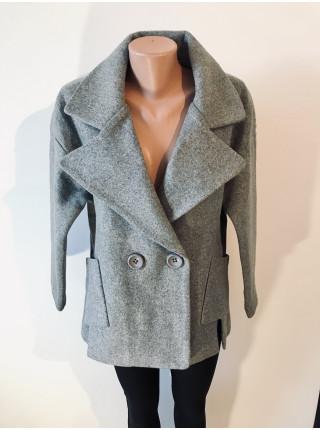 Женские пальто Luolita бордового и серого цвета