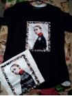 Купить футболку женскую с принтом и рисунком фото №2