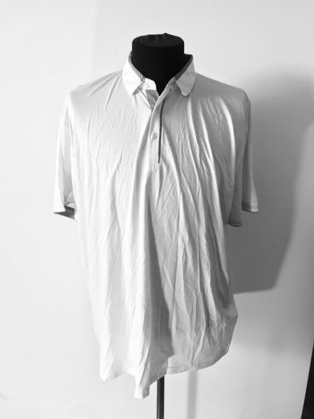 Чоловіча футболка поло біла Giorgio Armani