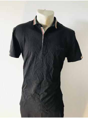 Мужская футболка Gucci черного цвета