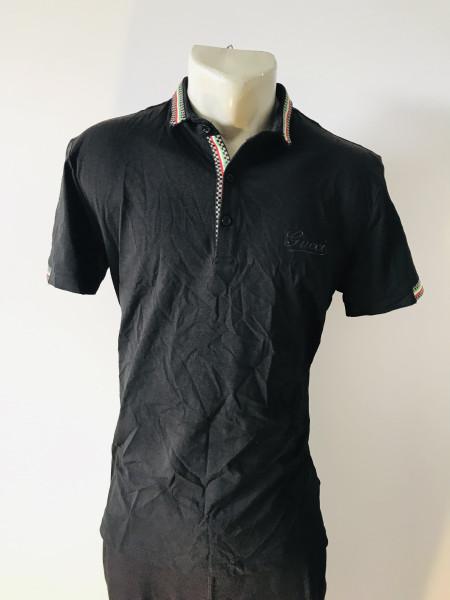 Чоловіча футболка Gucci чорного кольору