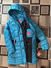 Snowimage купить в Украине.  Пуховик, куртка яркая бирюза