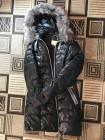 Женская куртка с мехом чернобурки фото №3
