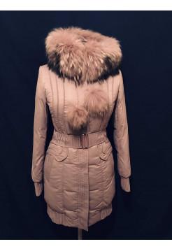 Купить на зиму peercat — женская куртка, пуховик с натуральным мехом