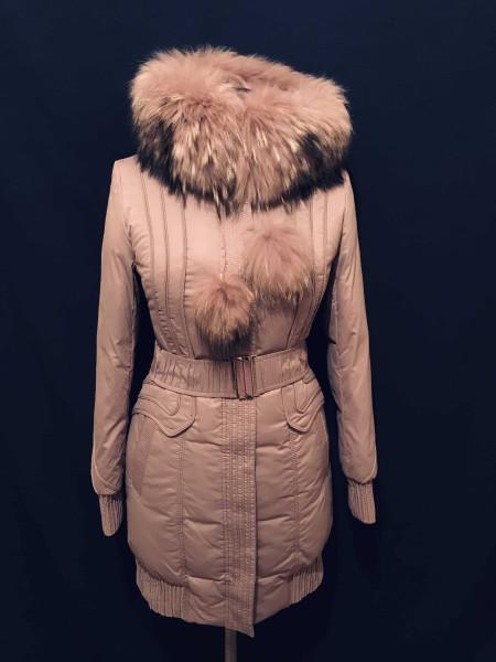 Зимняя куртка - пуховик Peercat с натуральным мехом