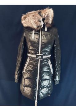Куртка з чорнобуркою купити недорого по акції