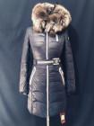 Жіноча зимова куртка з чорнобуркою на капюшоні. Натуральний наповнювач фото №2