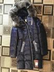 Жіноча зимова куртка з чорнобуркою на капюшоні. Натуральний наповнювач фото №3