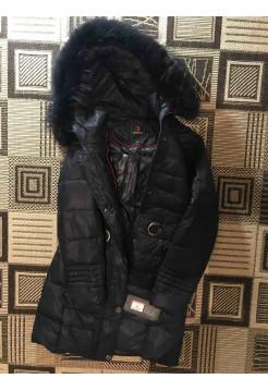 Купить женские куртки, пуховики оптом, розница Oilbird на зиму с натуральным мехом