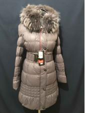 Купити жіночі зимові куртки, пуховики оптом, роздріб Oilbird натуральне хутро