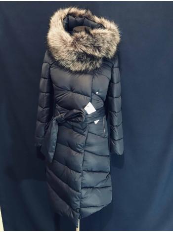 Пальто пуховик жіноче на зиму
