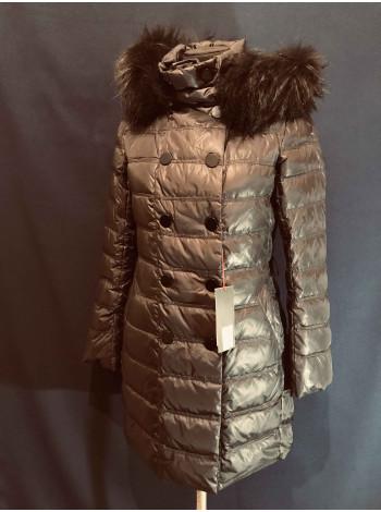 Snowimage пуховики и куртки в Украине с натуральным мехом енота