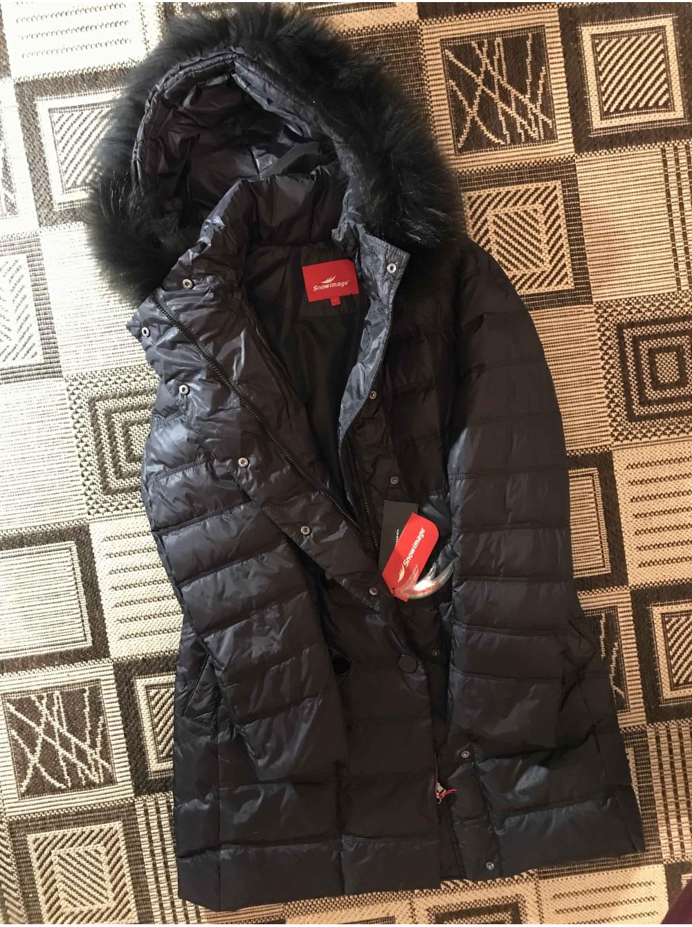 Snowimage пуховики і куртки в Україні з натуральним хутром єнота фото №3 71233936ef6b4