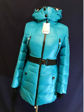 Купити пуховик жіночий Snowimage бірюза