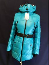 Купить пуховик женский Snowimage бирюза