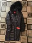 Модний жіночий зимовий пуховик Snowimage з хутром фото №2