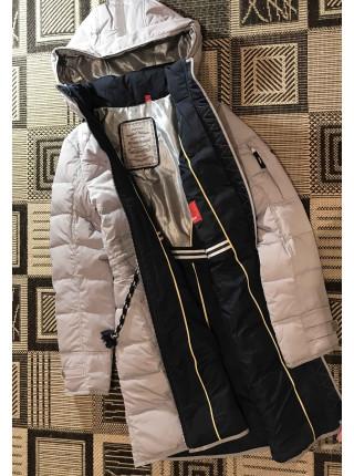Пуховики, купити куртки Snowimage в Україні. 502 сіра