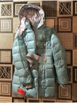 Пуховик женский Snowimage светлая бирюза