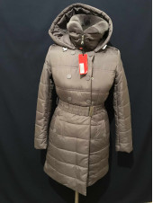 Snowimage оптом пуховики и куртки в розницу. Серая зайчик