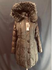 Snowimage пуховик жіночий з натуральним хутром