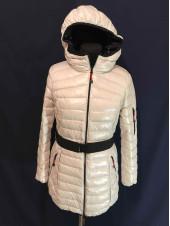Купить зимние Snowimage на девушку в Украине.  Куртка цвет молоко