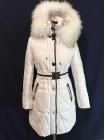 tommy женская зимняя куртка - пуховик недорого. Био-пух, натуральный мех фото №2