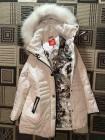 tommy женская зимняя куртка - пуховик недорого. Био-пух, натуральный мех фото №3
