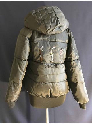 Куртка двухсторонняя женская демисезон Весна - Осень