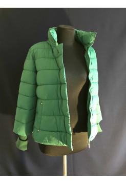 Куртка демисезонная женская - зеленая