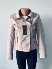 Куртки кожзам жіночі AFTF basic оптом і вроздріб