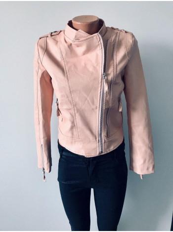 Куртки шкіряні кожзам Uyilufs чорна