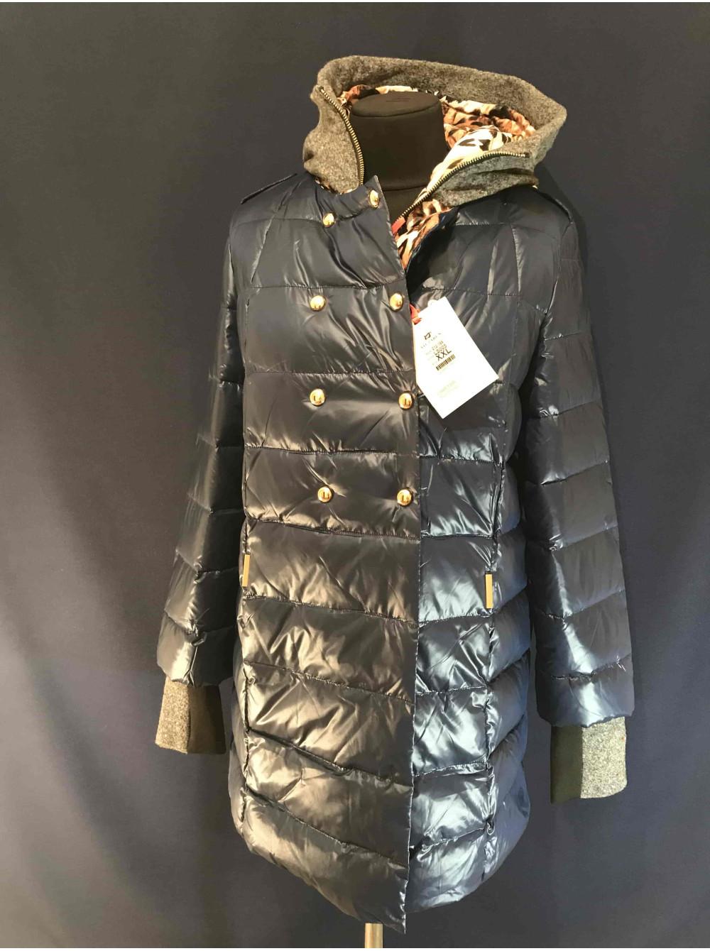 Жіноча пухова куртка VO TARUN кольору моря. Замовити в магазині онлайн 2372dbf35e575