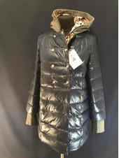 Куртка-пуховик VO TARUN кольору морської хвилі