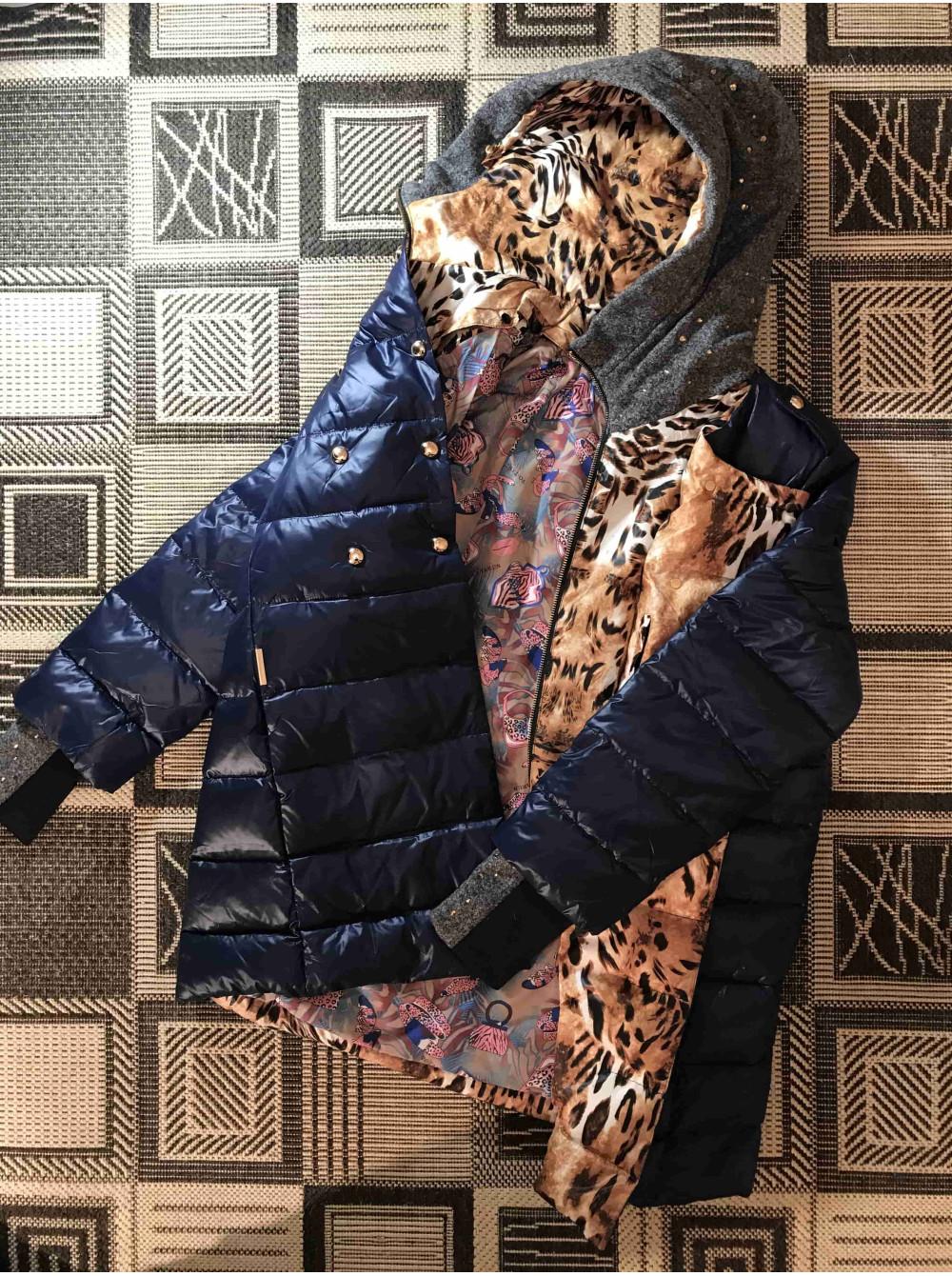 Жіноча пухова куртка VO TARUN кольору моря. Замовити в магазині онлайн фото  №3 e93577ad56756