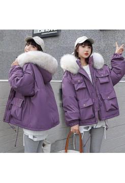 Hengbeishenh куртка зимняя женская