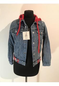 Джинсові куртки жіночі Fashion красная и желтая