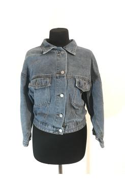 Джинсова жіноча куртка весна Fashion