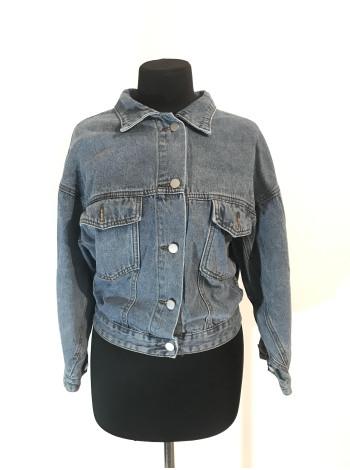 Джинсовая женская куртка на весну Fashion