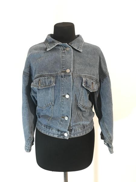 Джинсовая женская куртка весна Fashion
