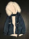 Купити жіночу джинсову куртку зі штучним хутром недорого Київ, Україна. фото №2