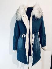 Джинсовая куртка QIBM удлиненная 179