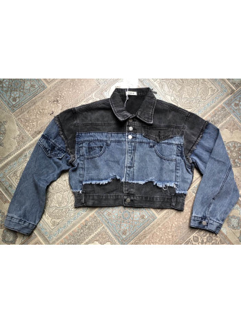 Куртка джинсова жіноча SSLG весна-осінь